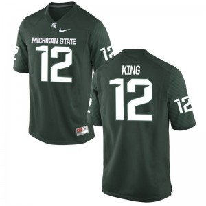 Josh King Spartans Jersey Youth XL For Kids Green Limited