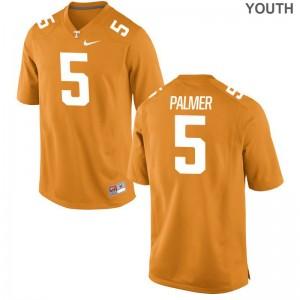 Limited Josh Palmer Jersey S-XL Vols Youth(Kids) Orange