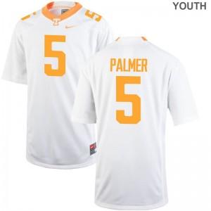 White Josh Palmer Jersey Large Vols Limited Youth