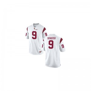 USC Stitched JuJu Smith-Schuster Limited Jerseys White Youth(Kids)