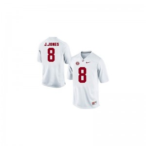 Julio Jones Youth(Kids) White Jersey Medium Limited Alabama