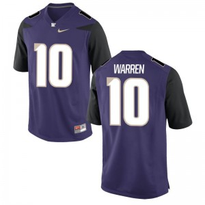 Youth(Kids) Jusstis Warren Jersey Youth Large University of Washington Limited - Purple