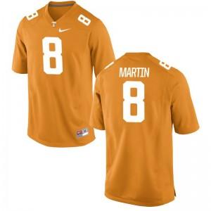 Justin Martin For Men Orange Jerseys Mens XXXL Vols Limited