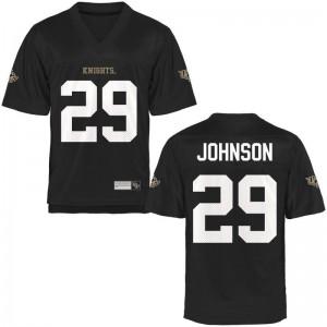 Keenan Johnson UCF Jerseys Mens Large Black Limited Men