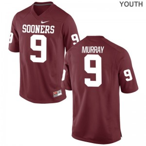 OU Kenneth Murray Jersey Youth Medium Crimson Limited For Kids