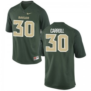 Miami Hurricanes Kevin Carroll Jersey NCAA Mens Limited Green Jersey