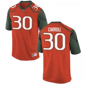 Kevin Carroll Jersey Miami For Men Limited - Orange
