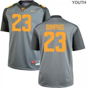 LaTrell Bumphus Vols Jerseys Youth Limited Gray