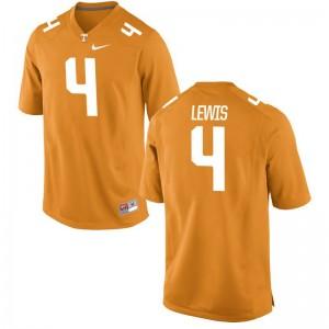 Latroy Lewis UT Jerseys Large Men Limited Jerseys Large - Orange