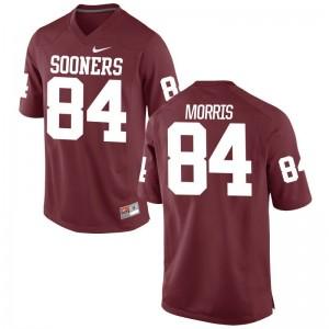 Lee Morris Mens Jersey Large Limited Crimson Sooners