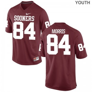 OU Lee Morris Limited Youth(Kids) Jersey - Crimson