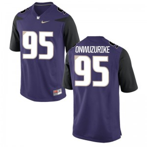 Washington Huskies Levi Onwuzurike For Men Limited Jerseys - Purple