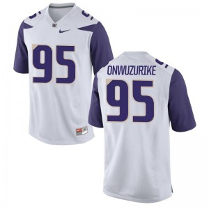 Washington Huskies Levi Onwuzurike Jersey S-3XL Limited For Men - White