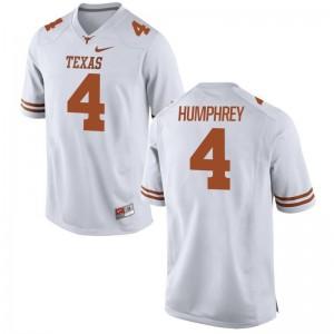 Lil'Jordan Humphrey For Men Jersey Mens Small Limited Longhorns White