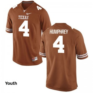 Youth X Large UT Lil'Jordan Humphrey Jersey NCAA Youth(Kids) Limited Orange Jersey