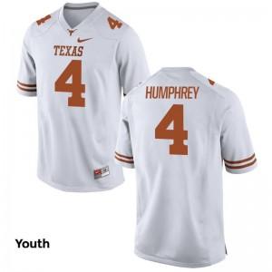 UT For Kids White Limited Lil'Jordan Humphrey Jersey Youth Medium
