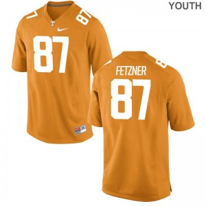 Vols Logan Fetzner Limited Jersey Orange Kids