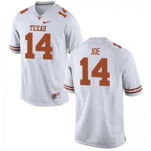 Lorenzo Joe Mens Jersey Mens Large White Limited Texas Longhorns