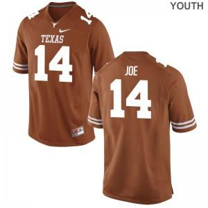Lorenzo Joe UT Jersey Small Limited Youth(Kids) Orange