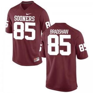 Oklahoma Sooners Malik Bradshaw Limited Jersey Crimson Youth(Kids)