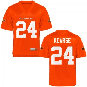 OSU Cowboys Malik Kearse Jerseys X Large Orange Youth(Kids) Limited