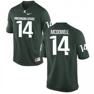 Malik McDowell Youth(Kids) Jerseys Youth Medium Limited Michigan State Spartans - Green
