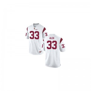 Mens Limited USC Jersey 2XL of Marcus Allen - White