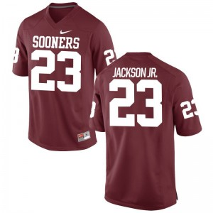 Mark Jackson Jr. Limited Jersey Youth(Kids) OU Crimson Jersey