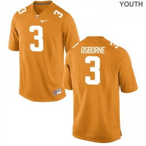 Tennessee Marquill Osborne Jerseys Youth Medium Kids Orange Limited