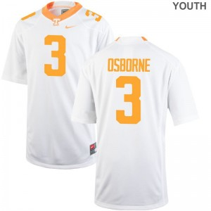Marquill Osborne Tennessee Volunteers Jerseys XL Limited For Kids White
