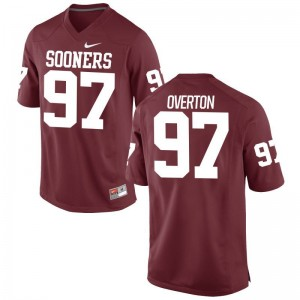 OU Limited Marquise Overton Men Crimson Jersey