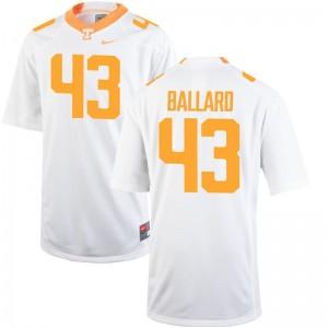 Men Matt Ballard Jerseys Mens Medium Tennessee Volunteers Limited White