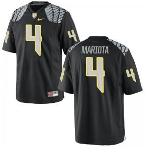 Limited Matt Mariota Jerseys S-3XL University of Oregon Men Black