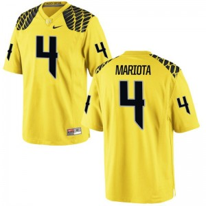 Matt Mariota For Men Jersey Men XXXL Oregon Limited - Gold