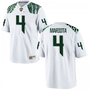 Matt Mariota Jerseys XXXL Mens University of Oregon Limited White