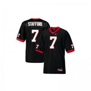 Matthew Stafford UGA Bulldogs Jersey Kids Limited Black