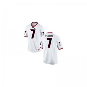 UGA Bulldogs Matthew Stafford Jersey Youth Large For Kids Limited White