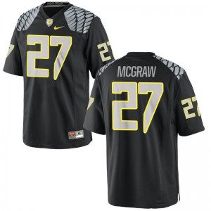 Mattrell McGraw Oregon Jerseys Limited For Men - Black