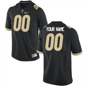 Men XXL Boilermaker Custom Jerseys Stitched For Men Limited Black Custom Jerseys