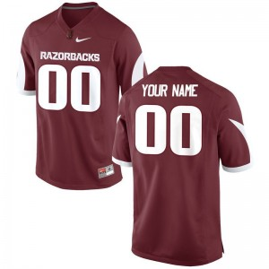 Razorbacks Customized Jerseys Men XL Cardinal Limited Men