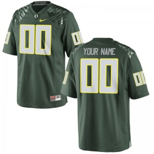 For Men Custom Jerseys Large Oregon Limited - Green
