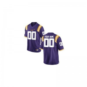 Tigers Men Limited Purple College Custom Jersey