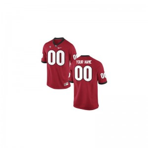 Georgia Bulldogs Custom Jerseys X Large Limited For Men - Red