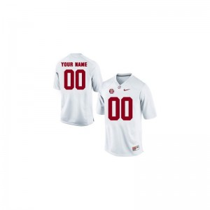 University of Alabama Custom Jerseys XXXL White Limited For Men