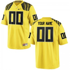 UO Customized Jersey Men XXXL Limited Mens Gold
