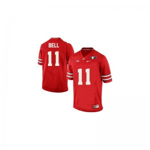 Limited Vonn Bell Jerseys X Large Mens Ohio State Buckeyes - #11 Red Diamond Quest 2015 Patch