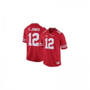 Cardale Jones Men Jersey Mens XXL Limited #12 Red OSU Buckeyes