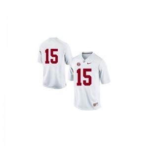 Alabama JK Scott Jerseys Mens Medium Limited Mens #15 White
