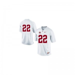 #22 White Mark Ingram Jersey Men XXL Bama For Men Limited