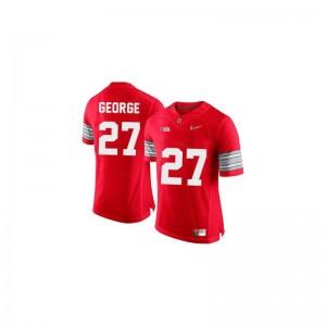 Eddie George Ohio State Jerseys XXXL Limited Men - #27 Red Diamond Quest Patch